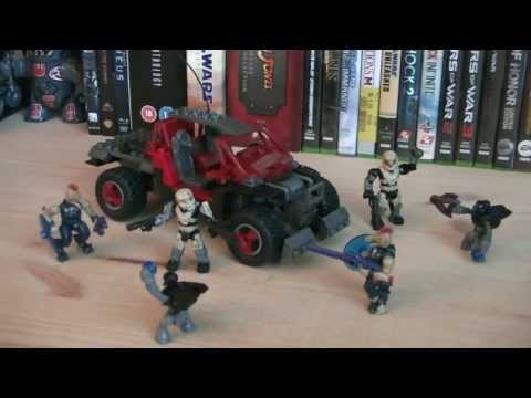Halo Mega Bloks 97158 Red UNSC Spade Review