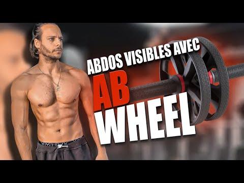 ABDOS 🔥  EN 1 MOIS : CHALLENGE AB WHEEL (pour des abdos visibles)