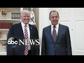 Trump revealed classified information to Russians: report