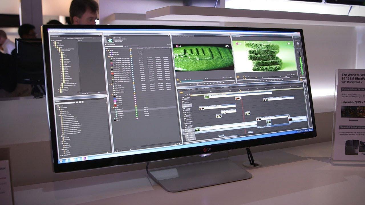 34 Inch pc monitor