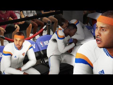 NBA 2k16 My Career Gameplay - CARMELO ANTHONY HATING ON BRIDGES! Ep. 44