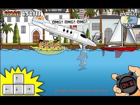 Cá mập Miami tấn công máy bay - 1.184.505 điểm (Miami Shark Game -1.184.505 points)