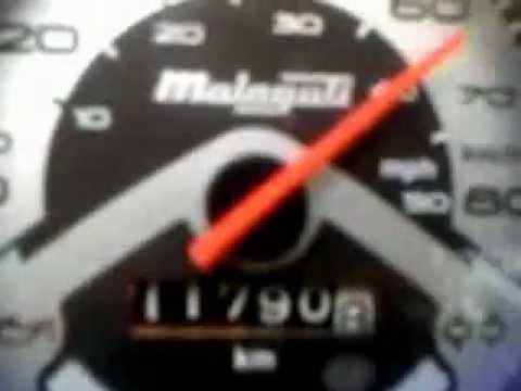 Zamykanie licznika Malaguti f12