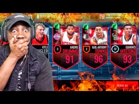 TEAM OF THE WEEK & DEADLINE PACK OPENING! NBA Live Mobile 16 Gameplay Ep. 80