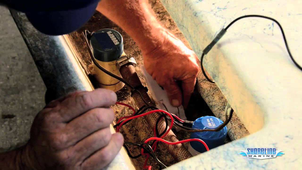 dual 12v toggle switch wiring diagram how to install a float    switch     amp  bilge pump youtube  how to install a float    switch     amp  bilge pump youtube