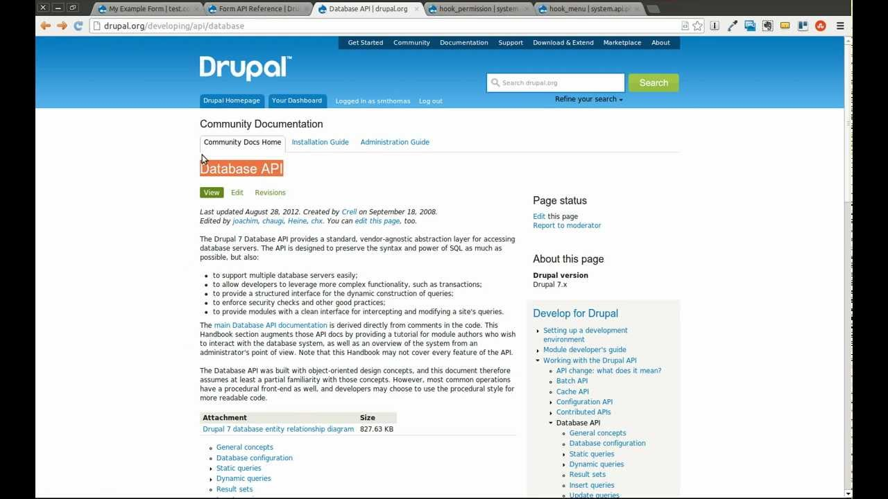 hook table drupal Drupal's hooks are somewhat similar to the hook that is called when a node is about to be viewed is defined as shown in table 21 table 21 node view hooks.