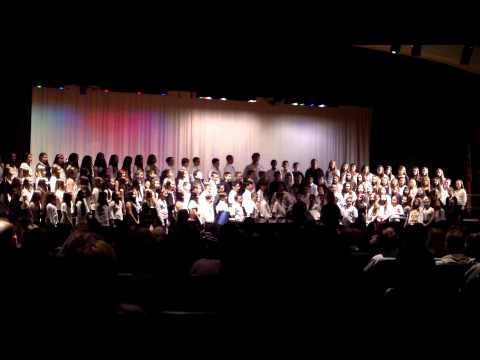 Commack Middle School 6th Grade Chorus Be Ay Bay Warm-Up
