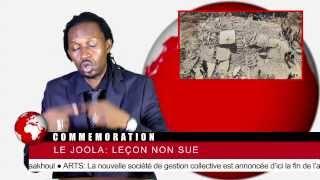 Journal Rappé - Le joola: Leçon non sue