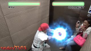 STREET FIGHTER ELEVATOR PRANK!