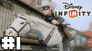 Disney Infinity Gameplay Walkthrough Lone Ranger