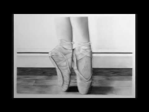 Dibujo zapatillas de ballet