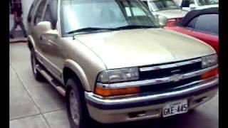 AUTOS USADOS ECUADOR(Venta Todoterreno Chevrolet BLAZER 4X4)
