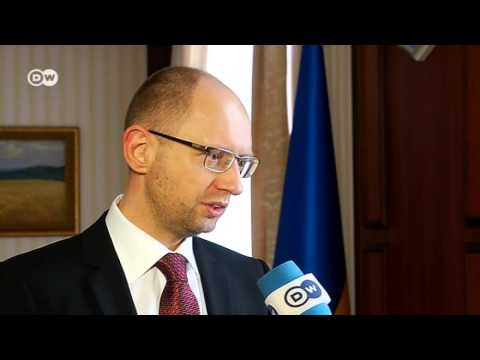 Ukraine and Russia: War of Words - Interview Yatsenyuk