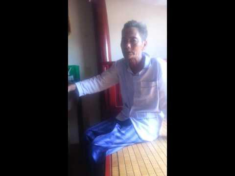 Ngâm thơ: Đường hành quân - Cụ Vũ Trí Sáu, Bắc Giang 2015