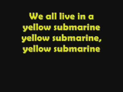 Songtext von The Beatles - Yellow Submarine Lyrics