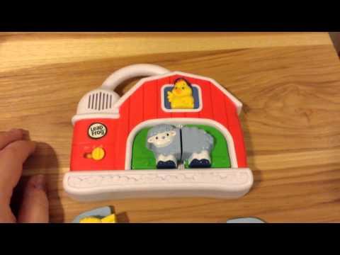Leapfrog Refrigerator Magnet Barn Animal Matching