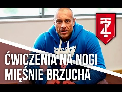 Ćwiczenia na nogi, zmniejszenie obwodu talii - odpowiada Michał Karmowski (Zapytaj Trenera)
