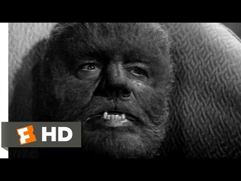 Bud Abbott and Lou Costello Meet Frankenstein (1/11) Movie CLIP - The Wolf Man Transforms (1948) HD
