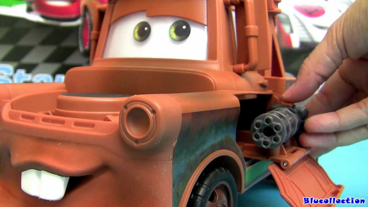 Transforming Tow Mater Truck Lights And Sounds Over 70