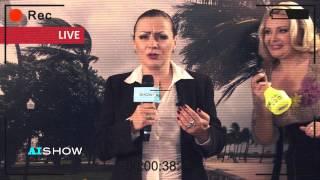 Angela Aramă în transmisiune directă din Filipine