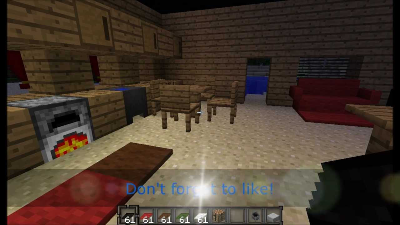 Minecraft Furniture Mod Spotlight Youtube