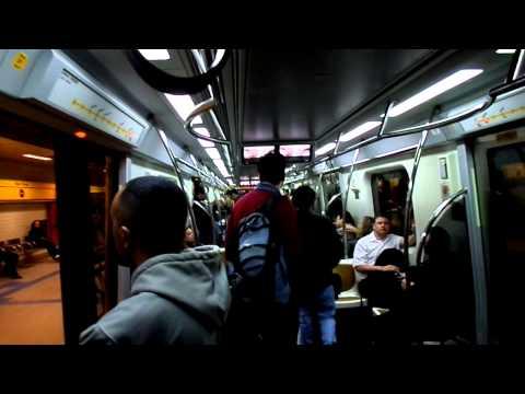 Subway Ride in Sao Paulo, Brazil