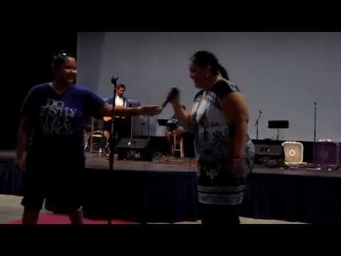 777 Prayer - A Native American Lady by name Chasity Roanhorse Prays for North America