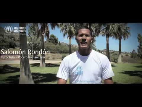 Salomón Rondón #Pontelacamisetadelosrefugiados ACNUR Venezuela