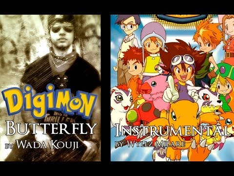 Digimon Adventure Op. 1 - Butterfly Instrumental by Wyllz Milare