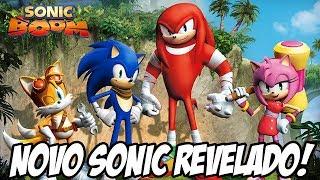 Novo jogo do Sonic, muitas mudanças