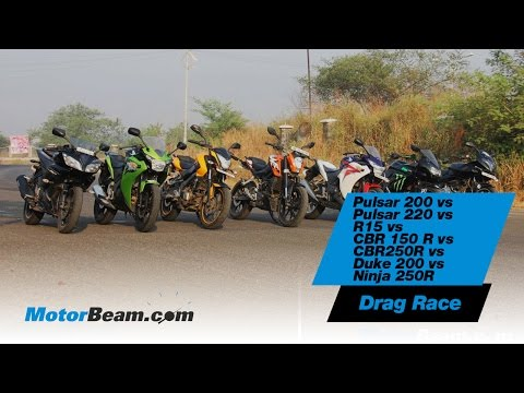 Greatest Motorcycle Drag Race In India