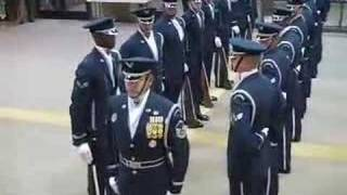 USAF Honor Guard Drill Team