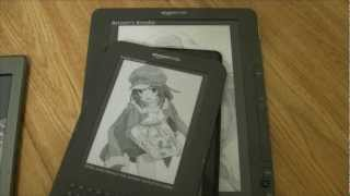 Kindle Comparison Fire, Touch, Keyboard, DX Graphite