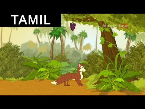 Fox and the Grapes - Animated Story