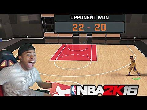 NBA 2K16  TRASH TALKER EXPOSES PRETTYBOYFREDO!! 1v1 MYCOURT!! 2K CHEESE RAGE QUIT!!! - PT 3