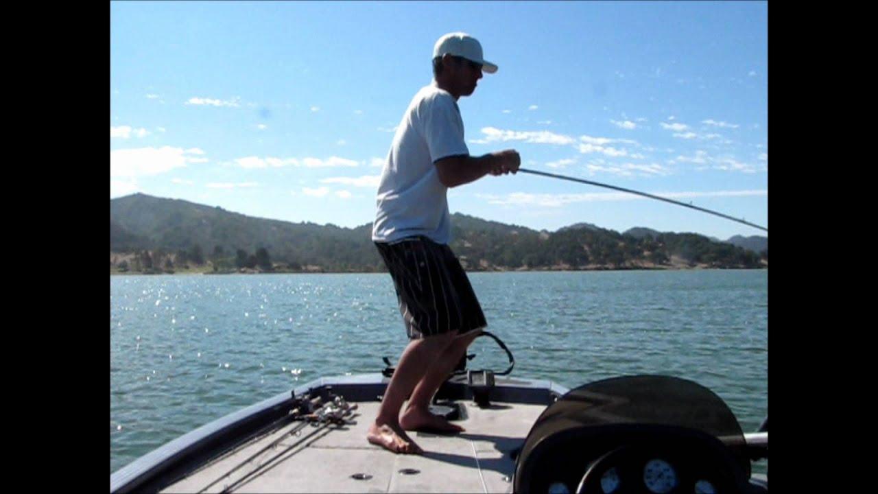 Hookedup bass fishing lopez lake 20lbs11oz 5 for Lopez lake fishing