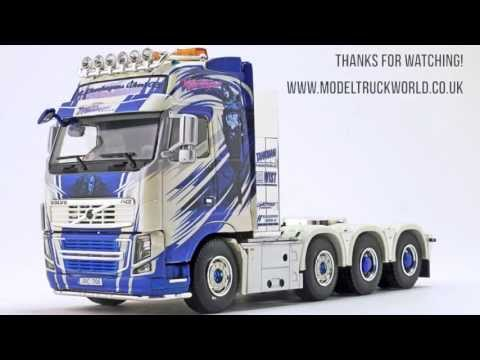 Model Truck World: Thurhagen Volvo Fh16 Heavy Haulage