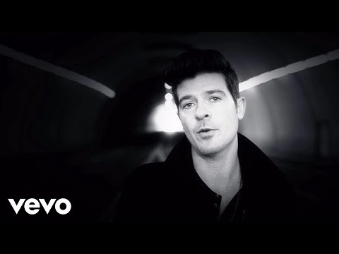Смотреть клип Robin Thicke - Exhale (Shoop Shoop)