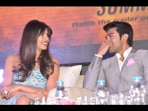Thoofan First Look Launch Gallery - Priyanka Chopra, Ram Charan, Chiranjeevi