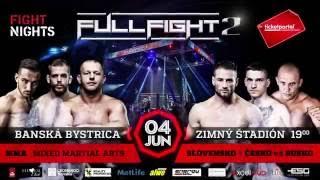 Špičkoví bojovníci z Ruska, Česka a Slovenska na Full Fight 2 na našom zimáku