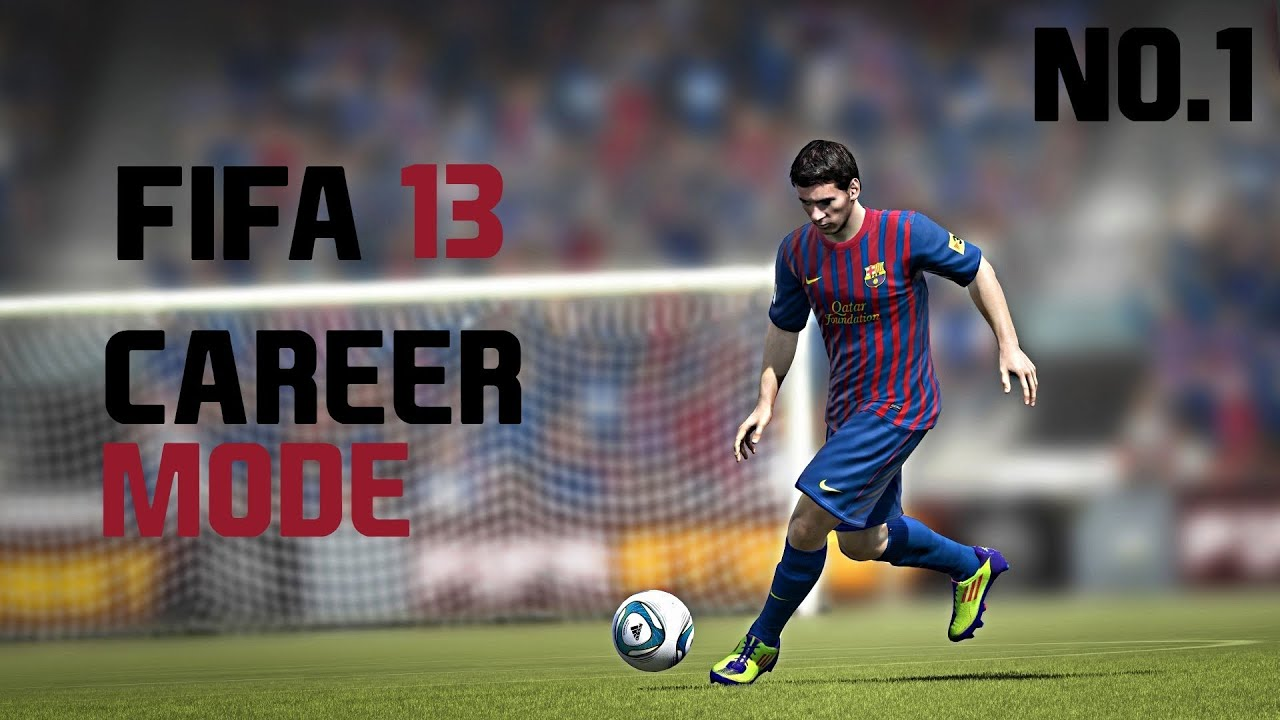 fifa 13 how to play career mode