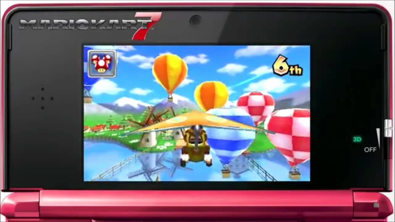 mario kart 7 3ds nintendo eshop trailer 2d youtube. Black Bedroom Furniture Sets. Home Design Ideas