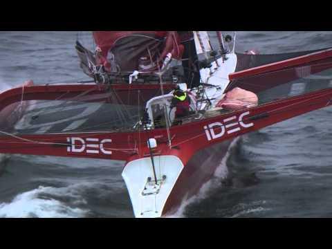 2013 Francis Joyon's IDEC Record Breaking Transat NewYork-Cape Lizaed.