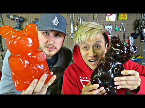 5LB Gummy Bear into Vacuum Chamber