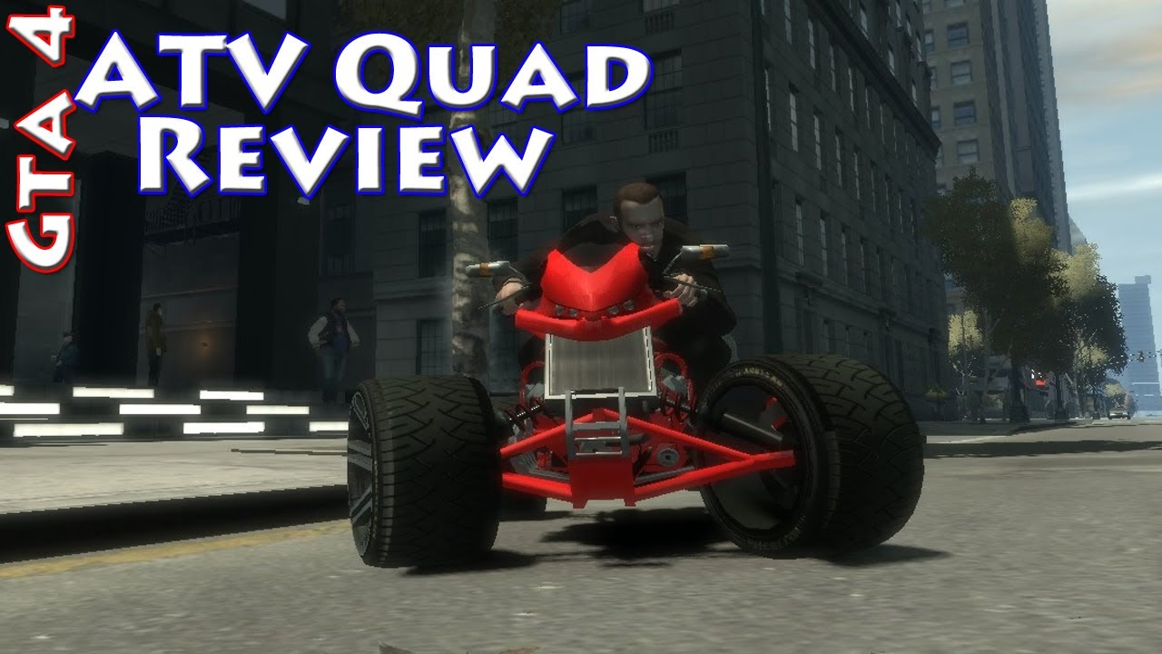 Grand Theft Auto 4  Atv Quad Bike Review  Hd
