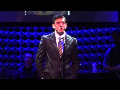 Tony Yazbeck - Out There (from The Hunchback of Notre Dame, live) @ Joes Pub, 1/28/13