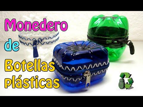 68. DIY PIGGY BANK (ALCANCÍA, HUCHA, MONEDERO)  RECICLAJE DE BOTELLAS DE PLÁSTICO