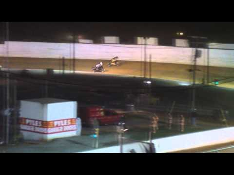 Port Royal Speedway 410 and 305 Sprint Car Highlights 4-19-14