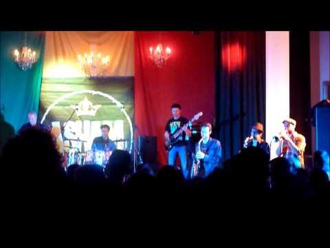 Asham band ft  Errol Dunkley @ feestzaal Bart,Antwerpen,Belgie,21 02 2014