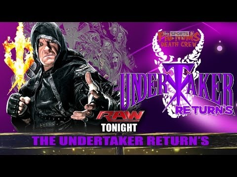 WWE Raw The Undertaker Vs Roman Reigns Match HD